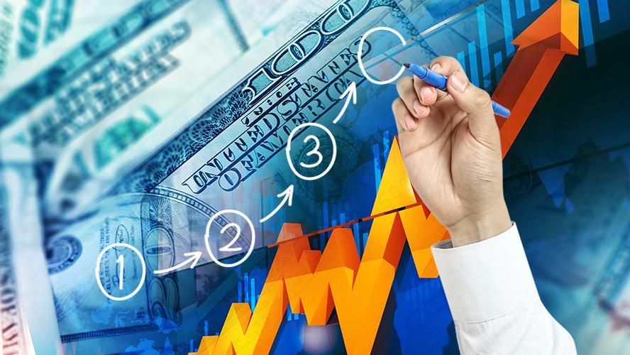 AvaTrade爱华:黄金大涨美元下跌,欧美最高上涨到1.1601